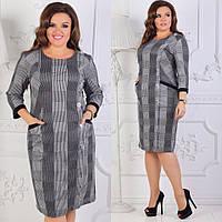 Нарядное женское платье больших размеров 54 56 58 60