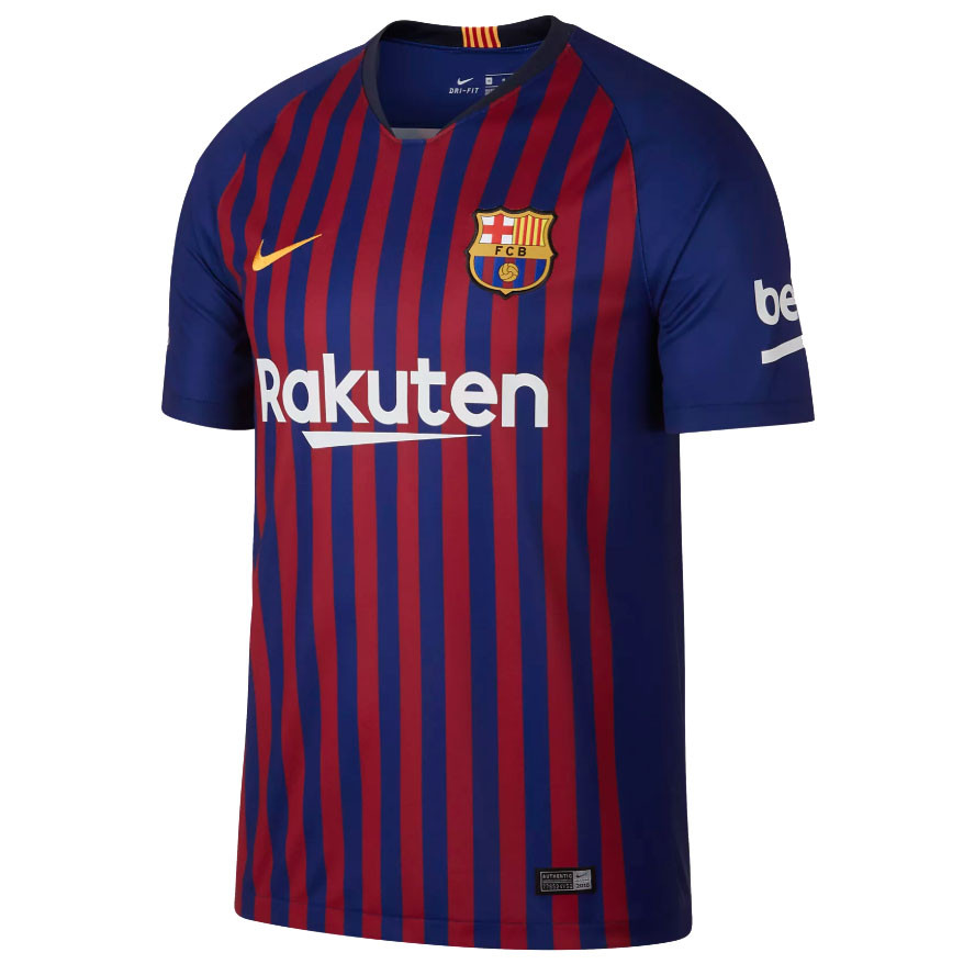 dacbf665 Футбольная форма 2018-2019 Барселона (Barcelona), домашняя, 0233 ...
