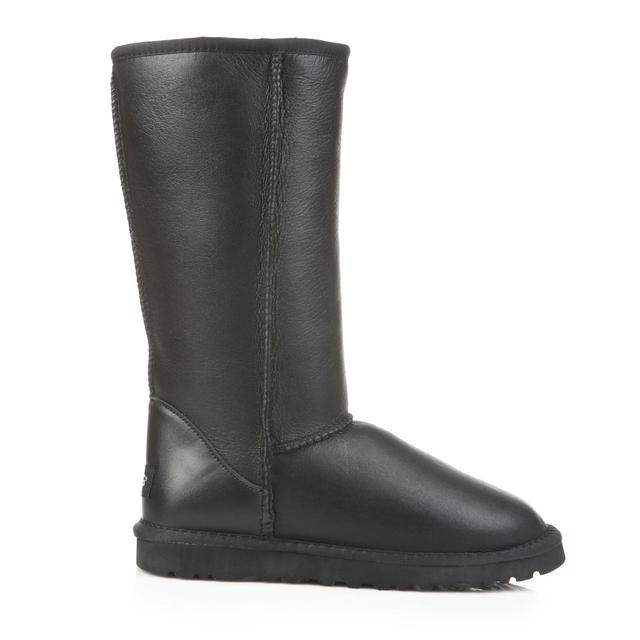 Ugg Australia Classic Tall Metallic Black Leather