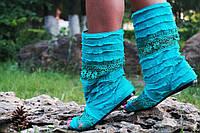 Полусапожки с открытым носком рюши+макраме. Подошва: черная и белая. Размеры: 36-42 код 4420О