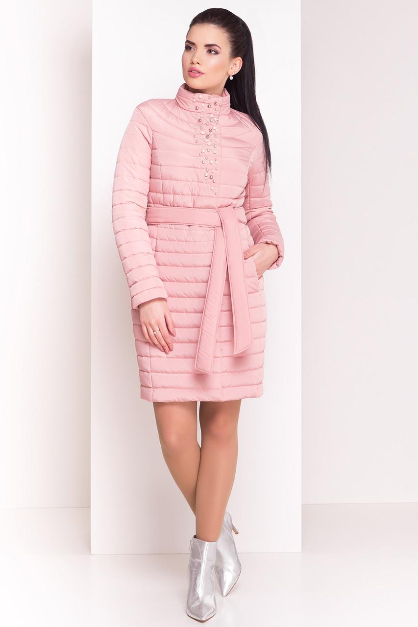 e2bbf1dcf80b Пальто с бусинами Блисс (пудра)  продажа, цена в Харькове. пальто ...