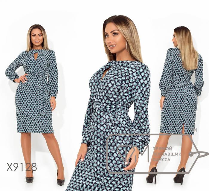Повседневное платье большого размера 48,50,52,54, фото 1