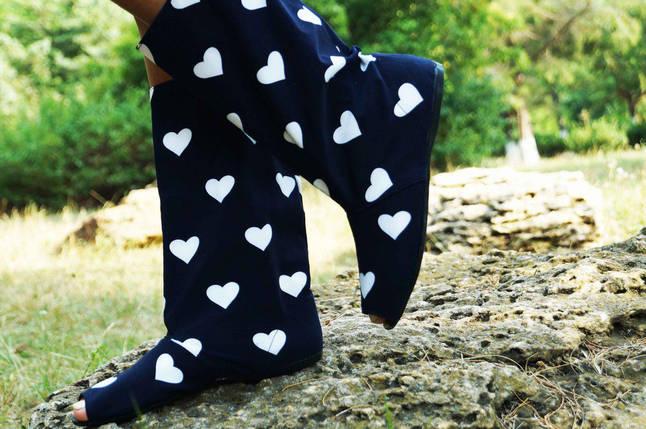 Полусапожки с открытым носком ткань масло+макраме. Подошва: черная и белая. Размеры: 36-42 код 4422О, фото 2