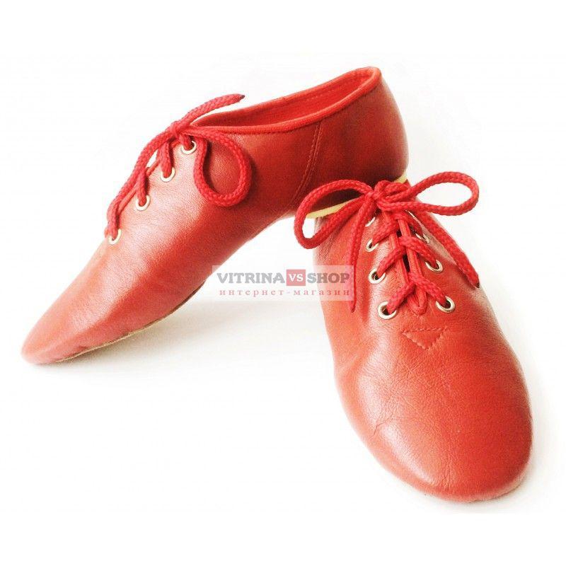 618c2fcdfaf Обувь для современных танцев джазовки низкие из натуральной кожи - Интернет- магазин Vitrina Shop в