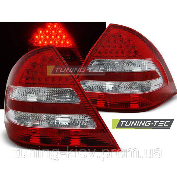 Задние фонари MERCEDES C-KLASA W203 SEDAN 04-07 RED WHITE LED