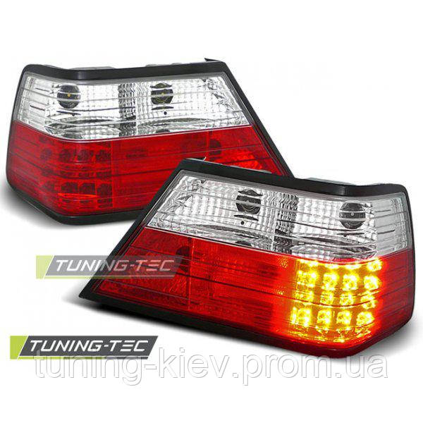 Задние фонари MERCEDES W124 E-Klasa 01.85-06.95 RED WHITE LED