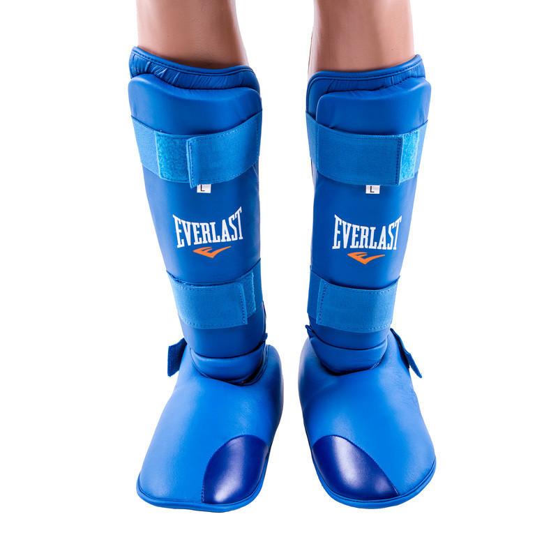 Защита ноги Everlast, голень и стопа отдельно синие
