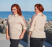 "Стильная блузка + батал "" Софт "" Dress Code, фото 1"