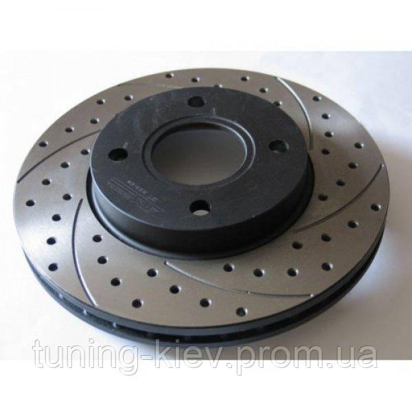 Тормозной диск задний тюнинг MERCEDES W124 1415