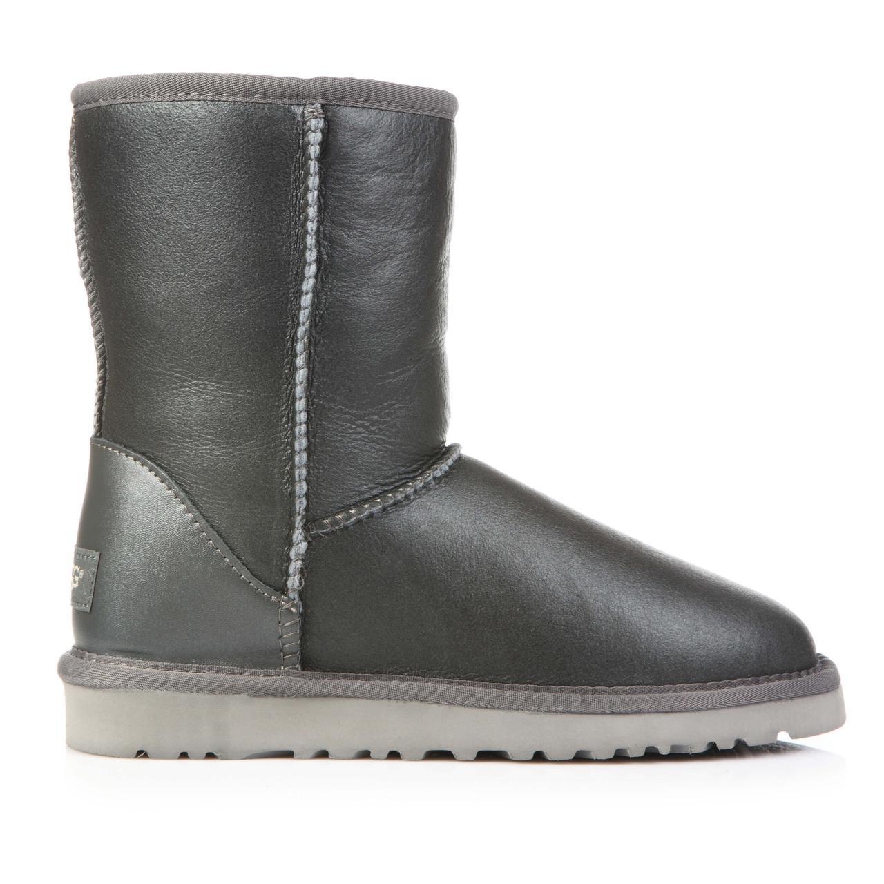 Уггі UGG Australaia Classic Short Grey Leather