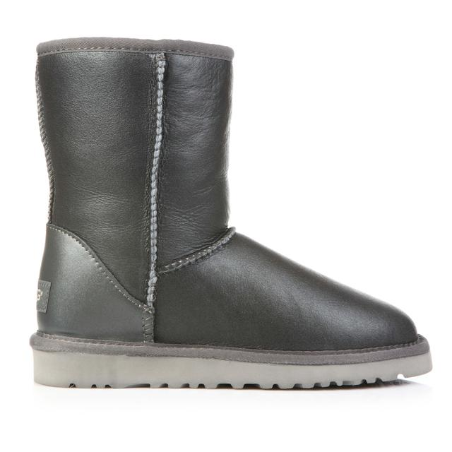 UGG Classic Short Grey Leather