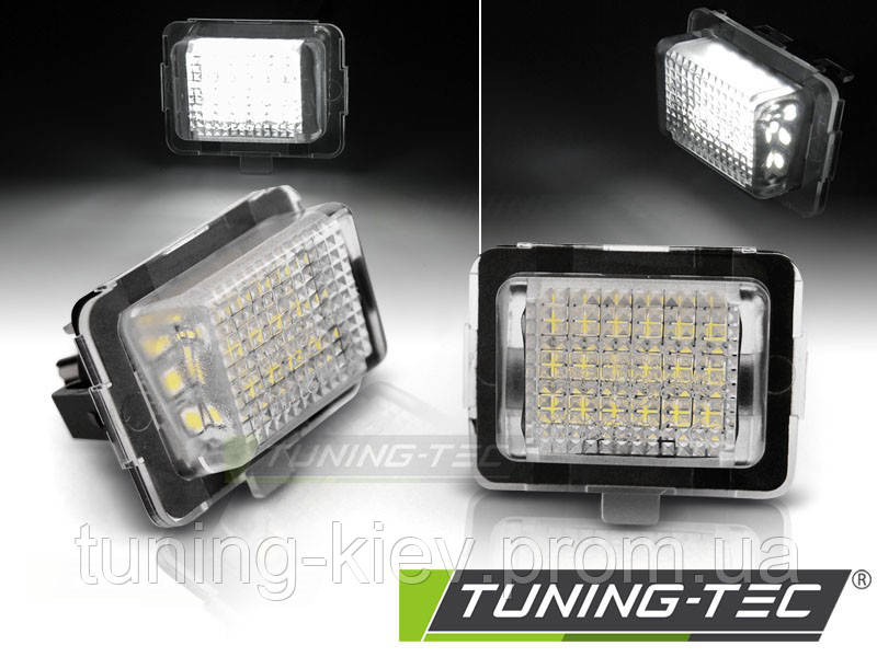 LED подсветка номера MERCEDES W204/W212/C207/C216/W221
