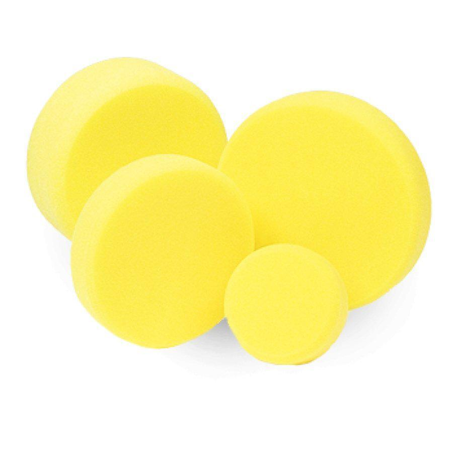 Полировальный круг полу-твердый - Koch Chemie 80х30 мм. желтый (999276)