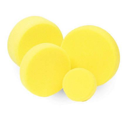 Полировальный круг полу-твердый - Koch Chemie 80х30 мм. желтый (999276), фото 2