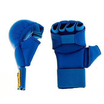 Накладки для карате BWS синие, фото 2