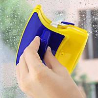 Магнитная щетка для мытья окон с двух сторн
