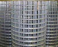 Сварная оцинкованная сетка для клеток 75*50*2 ширина 1,5м