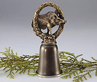 Рюмка NEST бронза с гербом КАБАН