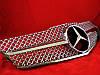 Решетка радиатора Mercedes С207 coupe / А207 cabrio стиль AMG хромированная, фото 5