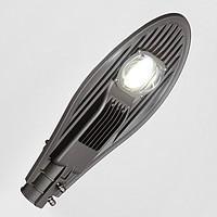 Прожектор на стовп світлодіодний із захистом від грози 50W 6500LM 6500K 4KV LEMANSO