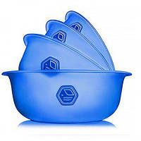 Миска для еды (салатница) набор 4шт Stenson (NP-74с)