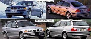 Фары передние для BMW 3 E46 '98-06