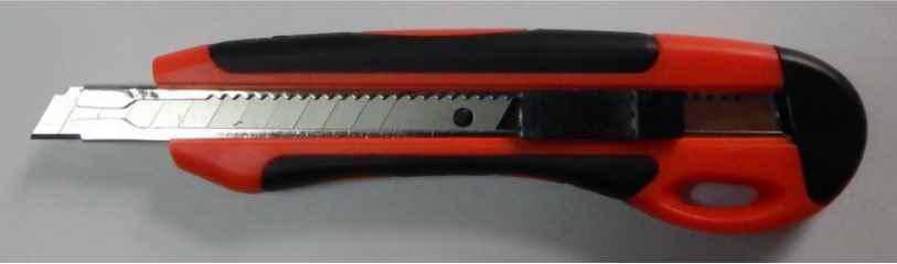 Ніж трафаретний Norma, 4524, 9 мм, автофіксатор, фото 2