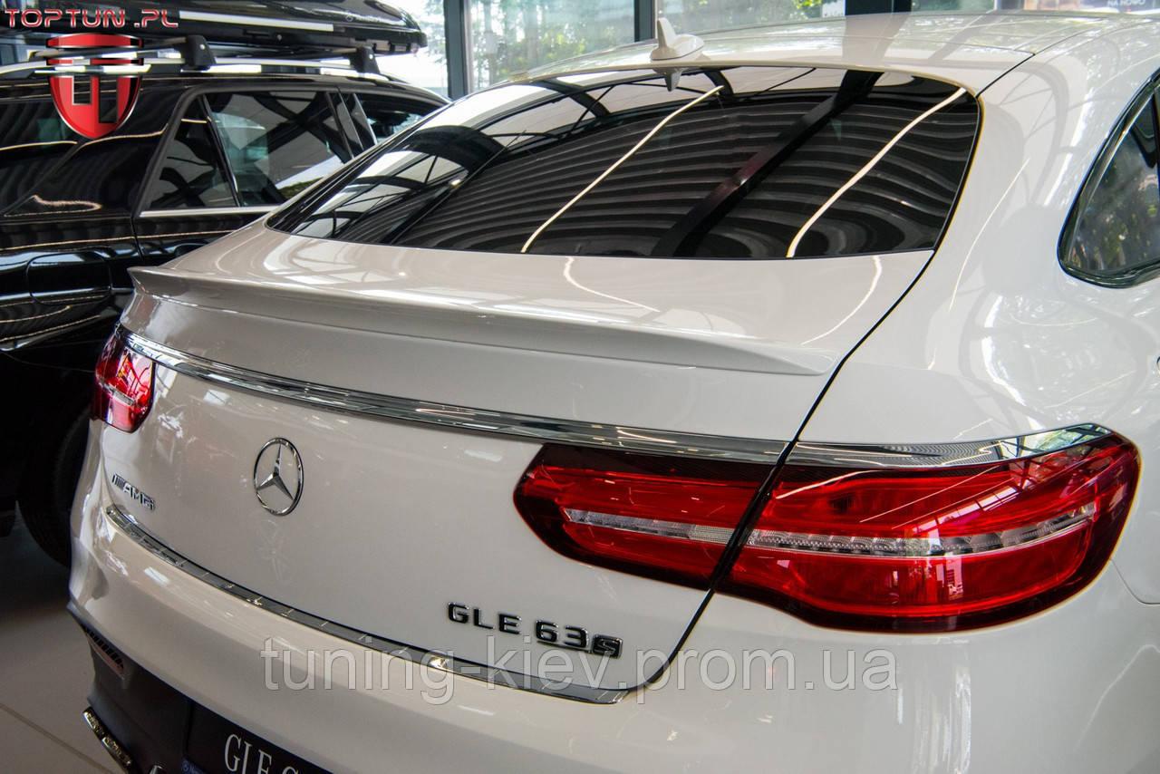 Липспойлер и защитная накладка на багажник Mercedes GLE Coupe