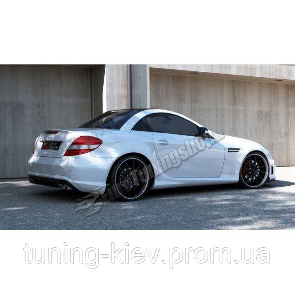 Бампер задний Mercedes SLK R171