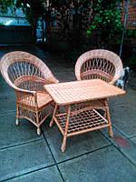 """2 кресла """"Капля"""" и стол"""