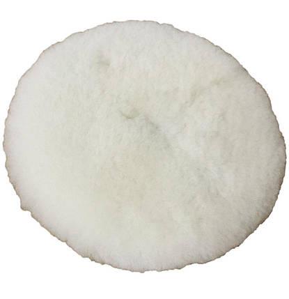 Полировальный круг лама - Koch Chemie Lammfell-Pad mit loch 135 мм. белый (999254), фото 2