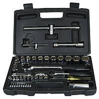 Набір інструментів 50 од 1/4 +1/2 (головки, тріскачки, біти) Stanley 1-94-656 | набор инструментов