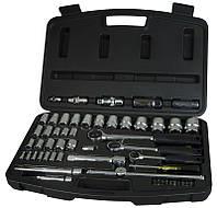 Набір інструментів 60 од 1/4 +3/8 +1/2 (головки, тріскачки, біти) Stanley 1-94-657 | набор инструментов