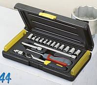 Набір інструментів 17 од 1/4 MicroTough Stanley 2-85-582 | набор инструментов