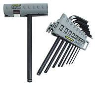 Набор ключей шестигранных Hex Grip 1,5 - 10 мм Stanley ( 0-89-904 ) | Набір ключів шестигранних Hex Grip 1,5 -, фото 1