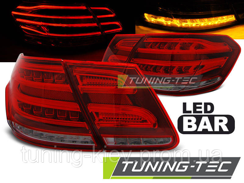 Задние фонари MERCEDES W212 E-KLASA 09-13 RED SMOKE LED