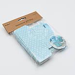 Коробочка для подарка, цвет голубой 5х5х5.5 см (10 шт), фото 2
