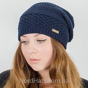 Женская удлиненная шапка, LaVisio (Т. Синий)