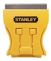 Скребок 43мм для скла Mini Glass Scraper + 5 лез Stanley 0-28-218 | стекла