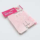 Коробочка для подарка, цвет розовый 5х5х5.5 см (10шт), фото 2