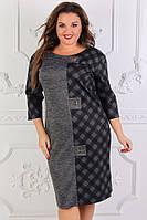Нарядное  женское платье в  размерах 52 54 56 58, фото 1