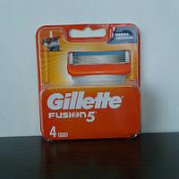 Кассеты для бритья мужские Gillette Fusion Power 4 шт. ( Жиллетт Фюжин павер оригинал) , фото 1