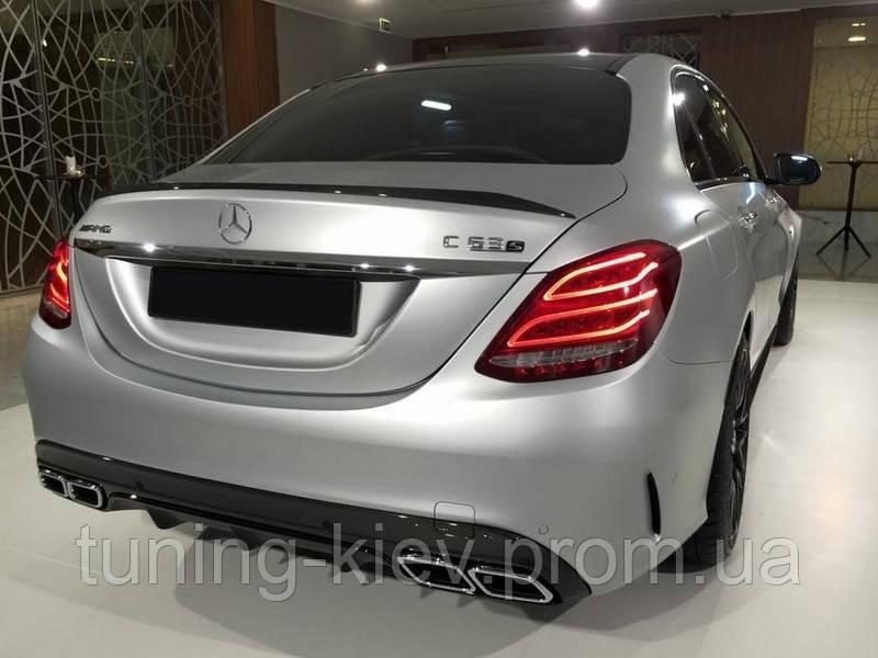 Спойлер Mercedes C W205 стиль AMG
