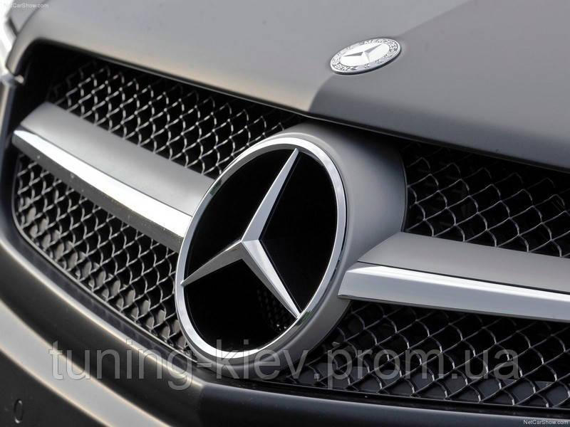 Эмблема звезда Mercedes в решетку ОРИГИНАЛ
