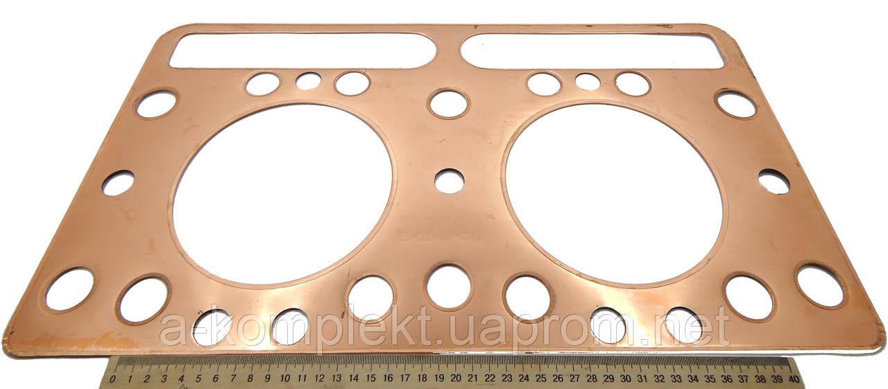 Прокладка головки блоку циліндра (ГБЦ) ПД (Д-160,Т-130)(мідна)