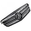 Решетка радиатора Mercedes W212 глянцевая с черной звездой, фото 4