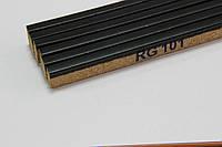 Пробковый компенсатор (порожек), 7мм, RG-101 Эбони (чёрный)