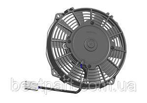 Вентилятор Spal 12V, толкающий, VA14-AP11/C-34S