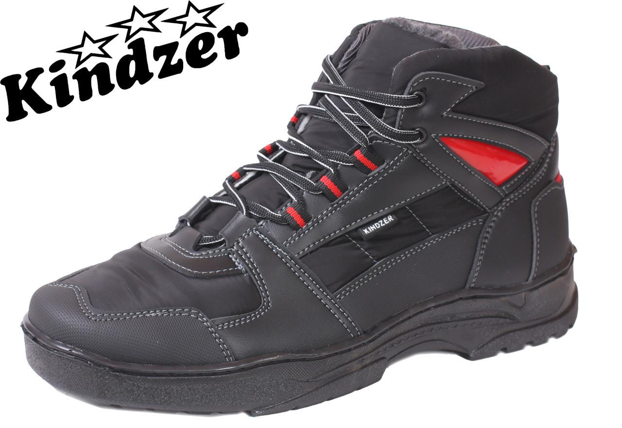 Ботинки Kindzer Б-7 BlackRed