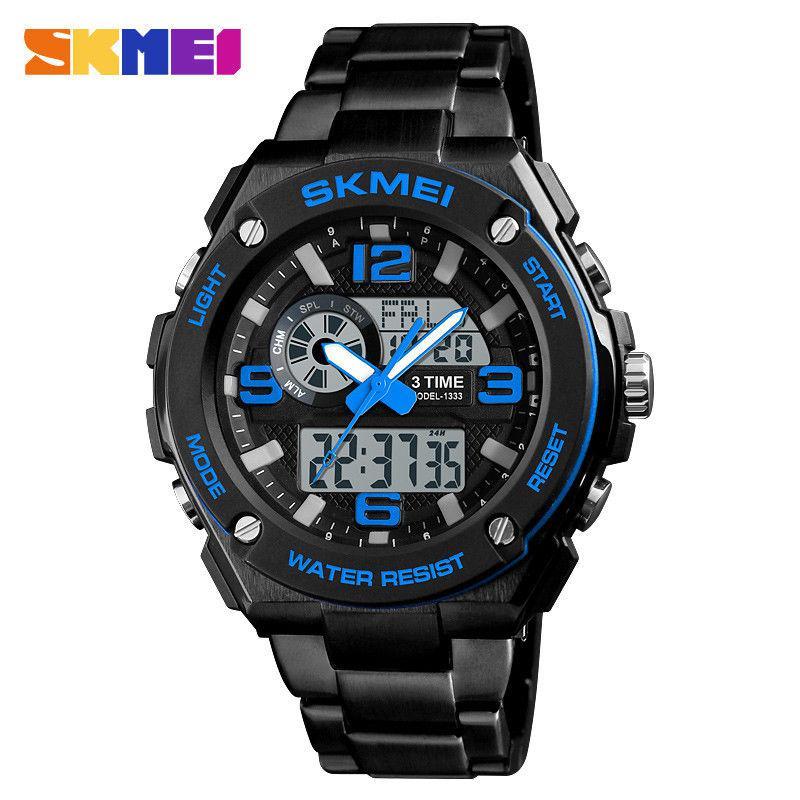 Мужские спортивные часы SKMEI 1333 синие